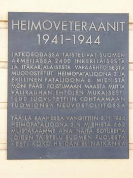 Heimopataljoonien muistopaččahat Suomes - Raahe.jpg