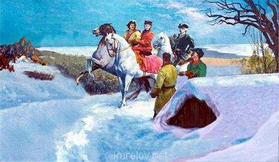 Создадим протосценарий фильма Как царь Пётр карела белил ? - к царю с челобитной Мартин и Иван.jpg